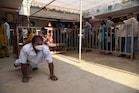 Tirupati by poll: తిరుపతి బై పోల్ లో ఉద్రిక్తత. రోడ్డుపై టీడీపీ నేతల బైఠాయింపు. ఓటు వేసిన