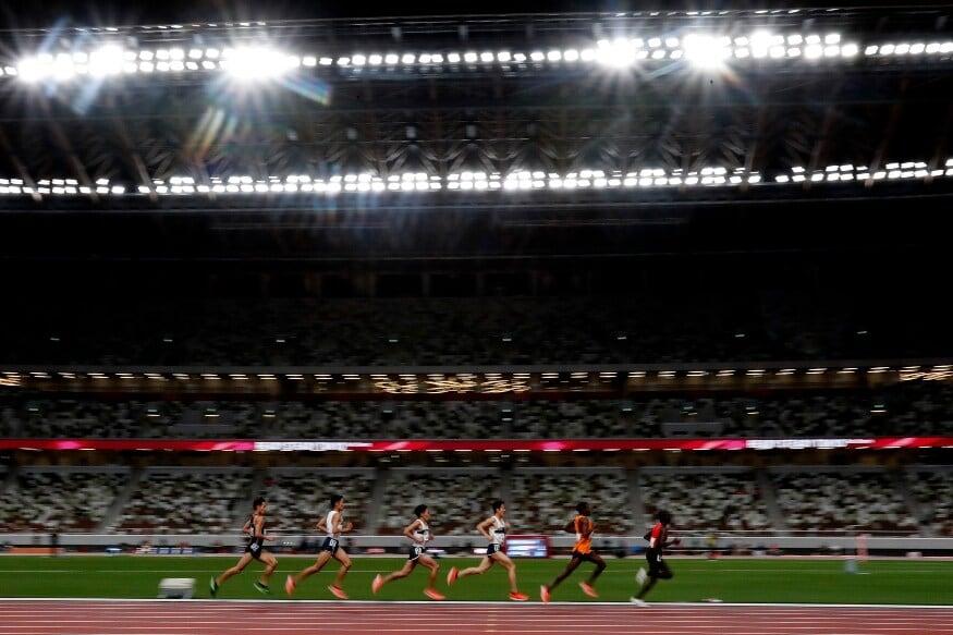 టోక్యో ఒలింపిక్స్ అథ్లెటిక్స్ టెస్ట్ ఈవెంట్లో 5000 మీటర్ల పురుషుల జట్టులో రేసులో ఈ అథ్లెట్లు పోటీపడతారు (Photo Credit: AP)