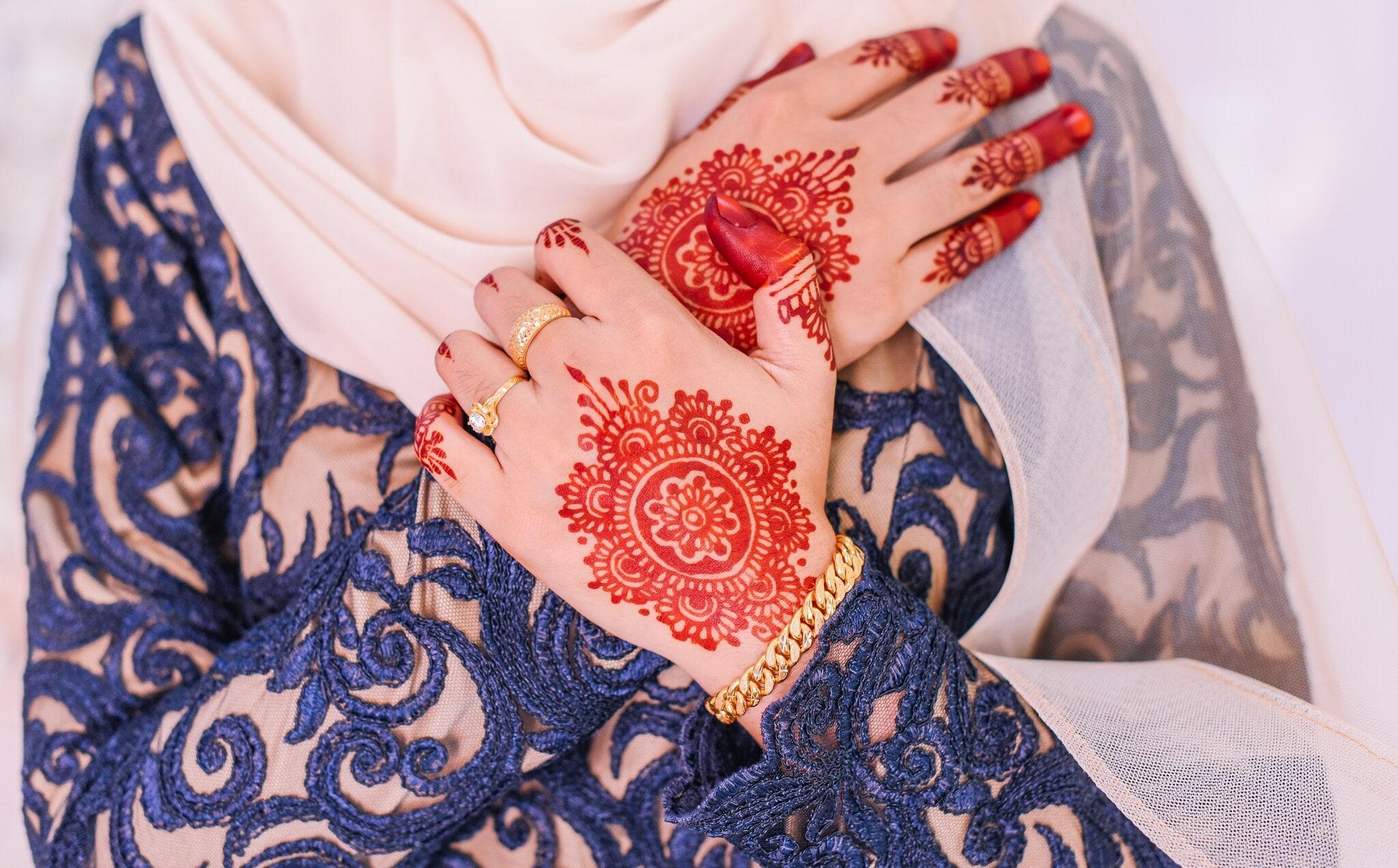 ఈద్ కోసం అందమైన, సాధారణ మరియు సులభమైన మెహందీ డిజైన్స్ (Image: Shutterstock)