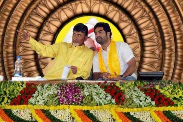 Jr. NTR: తారక్ జాగ్రత్త... జూనియర్ ఎన్టీఆర్ తో చంద్రబాబు... ఏమైందంటే