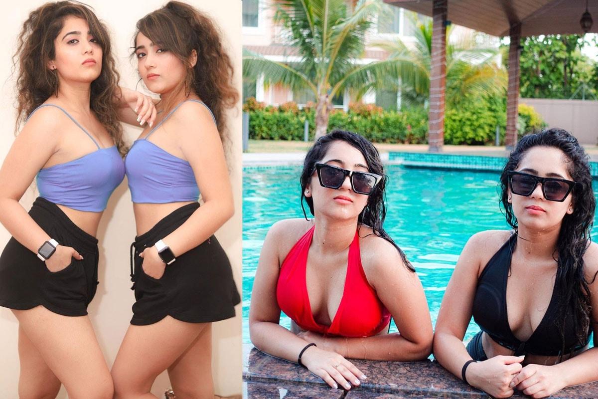 Chinki Minki, surabhisamriddhi, Bollywood Twin Sisters, Kapil Sharma Show, Chinki Minki Instagram, Chinki Minki Hot Pics