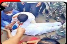 Congress Dharna: పెట్రోల్ ధరలపై కాంగ్రెస్ నిరసనల్లో ఉద్రిక్తత...క్రిందపడిపోయిన ఎమ్మెల్సీ జీవన్ రెడ్డి...!