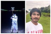 Hyderabad : కోవిడ్ కట్టడికి వినూత్న ప్రచారం.. సూపర్ హిరోలా మారిన ఇంజినీరింగ్ స్టూడెంట్!