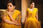 Rashmi Gautam: లంగా ఓణీలో పద్దతిగా ప్రాణాలు తీస్తున్న రష్మి గౌతమ్..