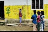 Best Teacher : గోడలే.. బ్లాక్ బోర్డులుగా.. ఊరే ఓ పాఠశాలగా  ప్రభుత్వ టీచర్ వినూత్న ఆలోచన..!