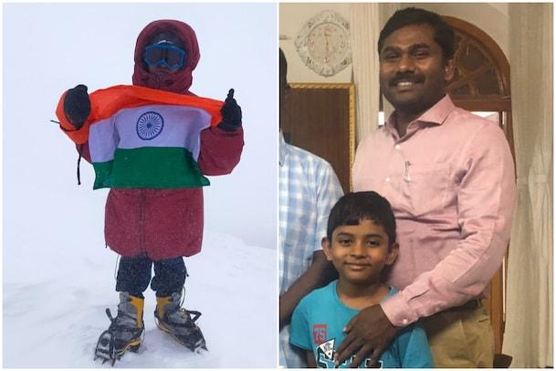 AP Boy creates World Record: వయసు ఎనిమిదేళ్లు... లక్ష్యం ఎవరెస్ట్.. వరల్డ్ రికార్డు