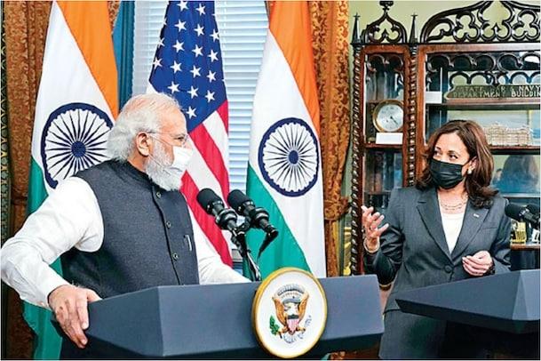 PM Modi US Tour: అమెరికా వైస్ ప్రెసిడెంట్ కమలా హారిస్తో ప్రధాని మోదీ భేటీ.. ఏం చర్చించారం