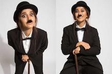 Nabha Natesh as Charlie Chaplin: చార్లి చాప్లిన్లా మారిపోయిన ఇస్మార్ట్ పోరీ నభా నటేష్ను చూసారా..?