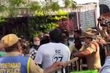 MAA Elections: 'మా' ఎన్నికల పోలింగ్ కేంద్రం వద్ద ఉద్రిక్తత.. ఇరువర్గాల వాగ్వాదం